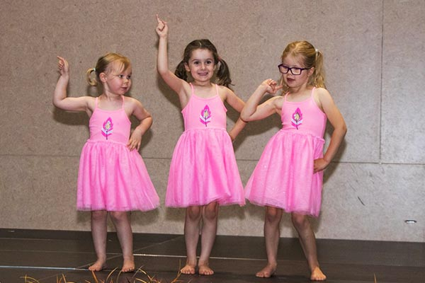 Jitterbugs dance classes ages 3-8 years