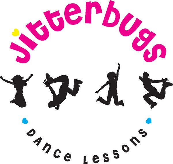 Jitterbugs Dance Lessons round logo
