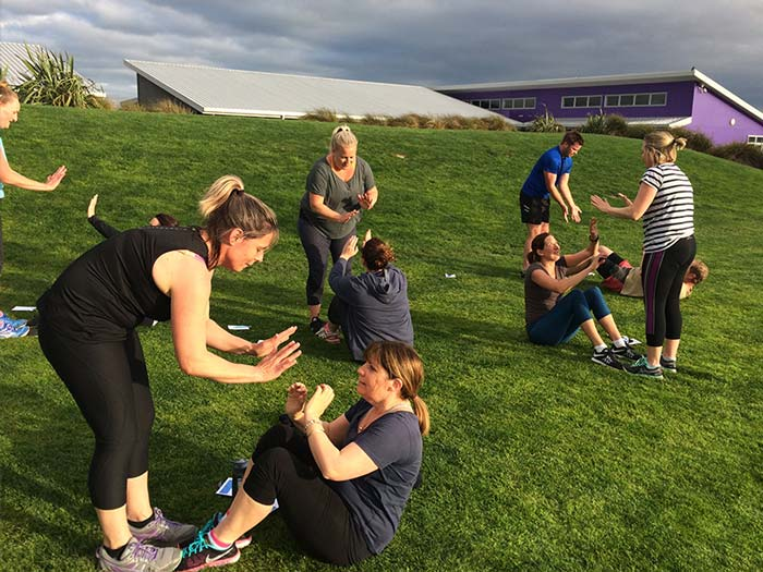 JitterFit Excercise Classes bootcamp